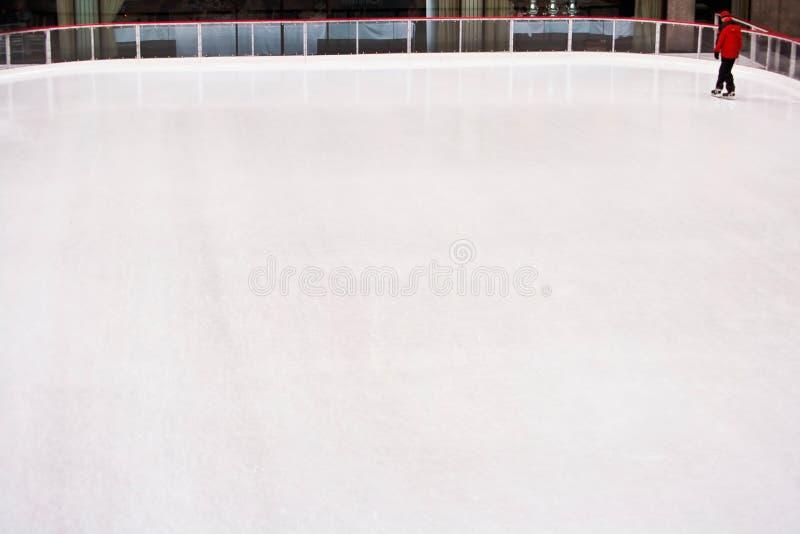 溜冰场滑冰 免版税库存图片
