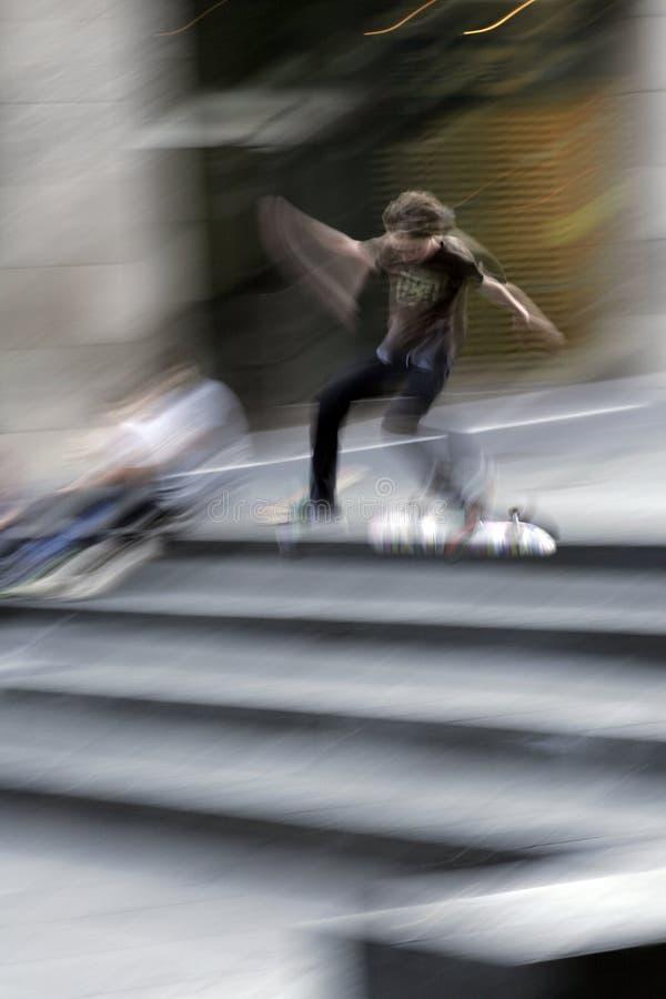 溜冰板者 库存图片