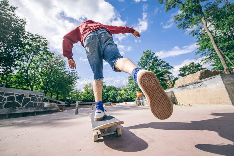 溜冰板者 免版税库存照片