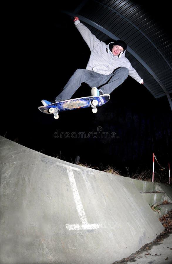 溜冰板运动 免版税图库摄影