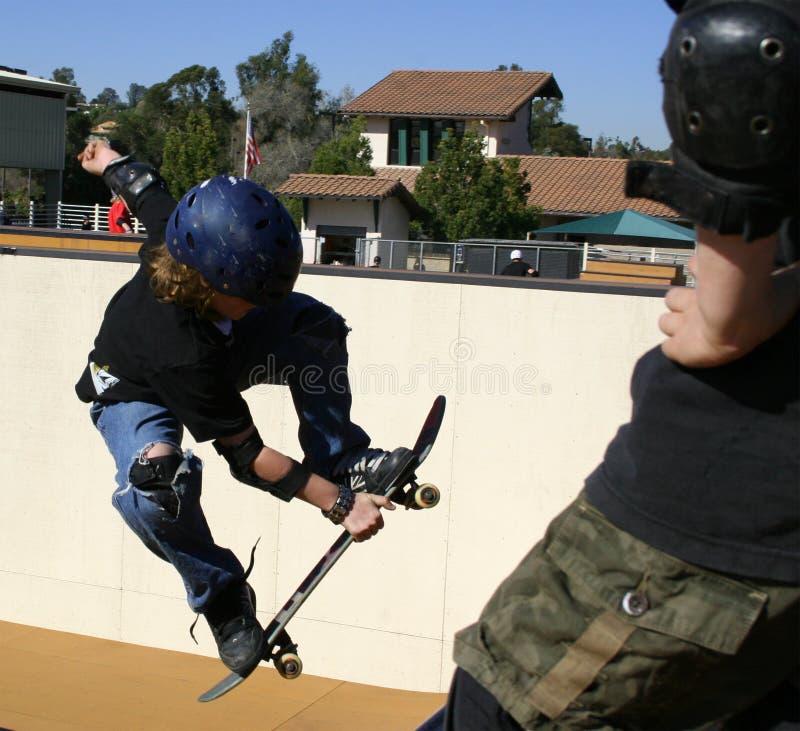 溜冰板运动 免版税库存图片