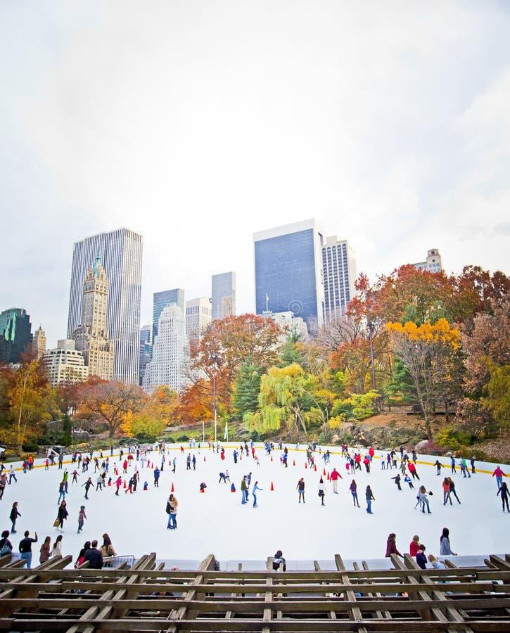 溜冰者 免版税库存图片