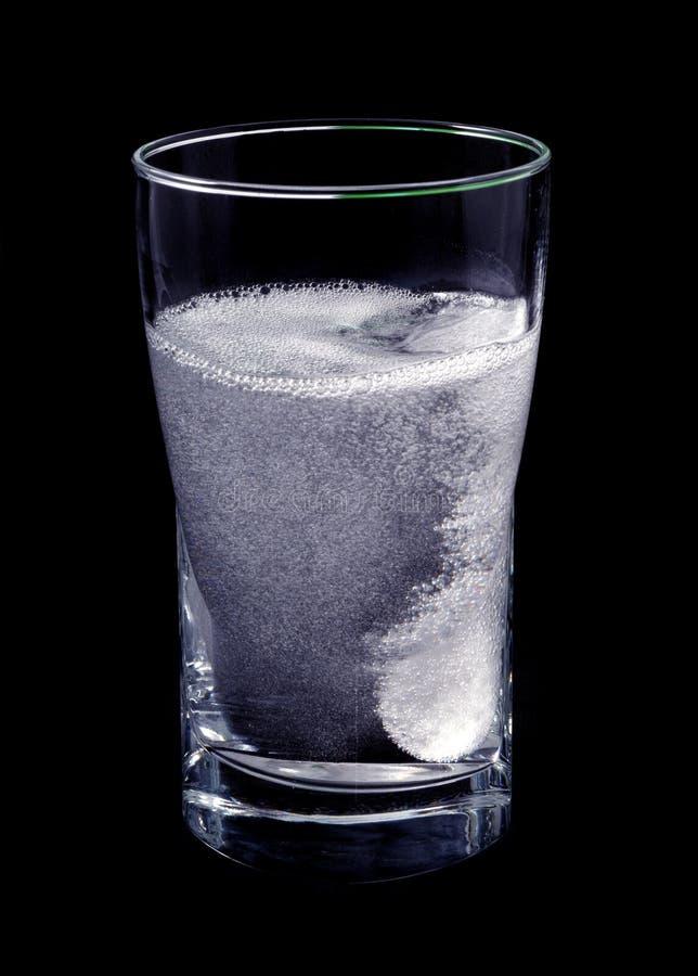 溶化的片剂 免版税库存照片