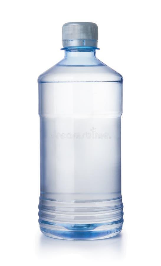 溶解的瓶Fron视图  免版税库存照片