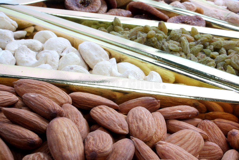 滋补的dryfruits 库存图片