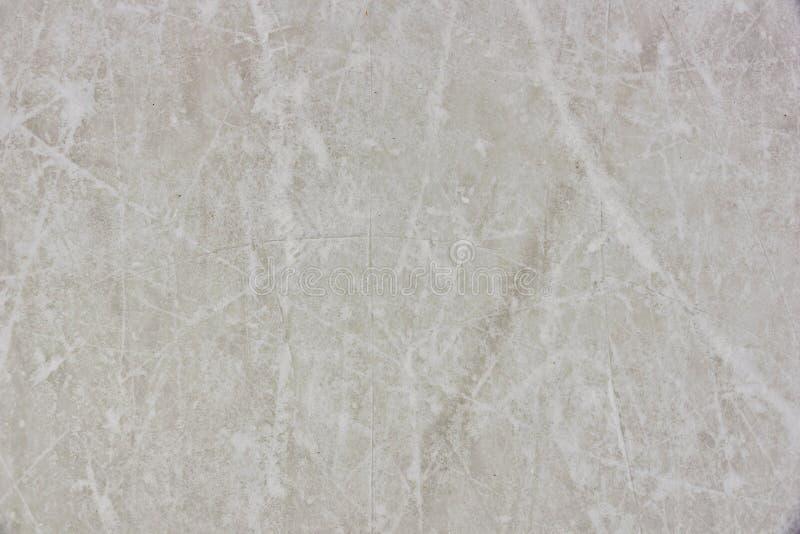 滑冰场的纹理 免版税库存照片