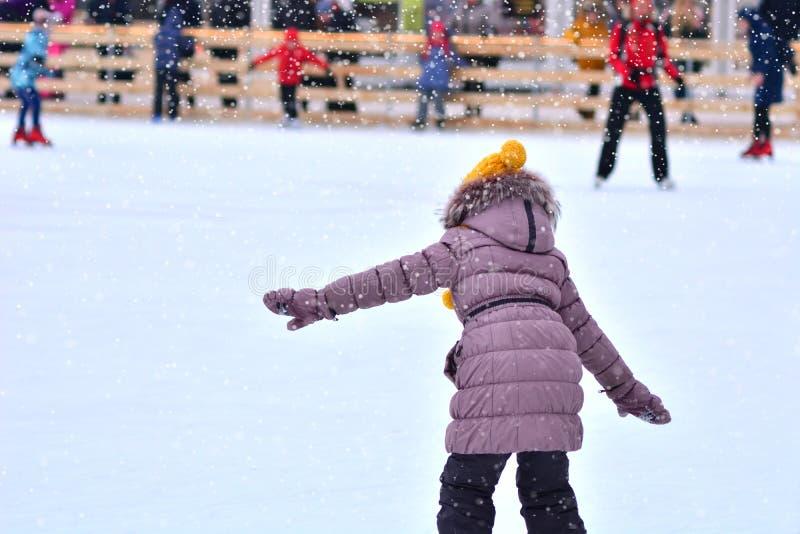 滑冰场 E 免版税图库摄影
