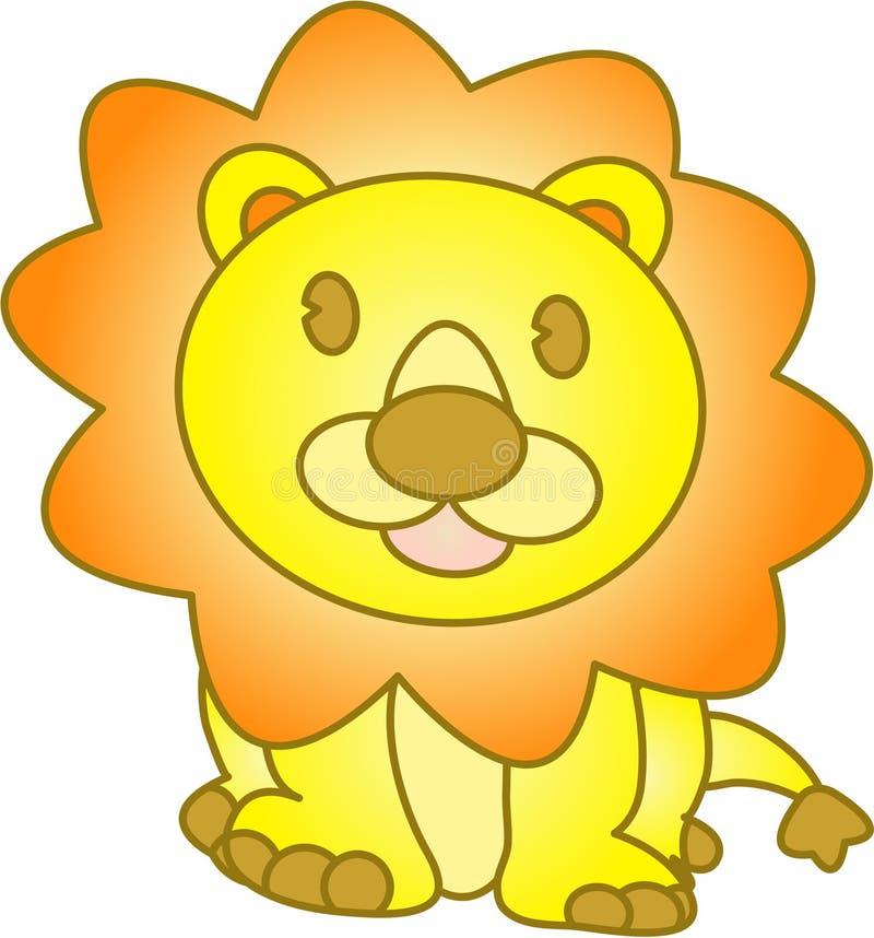 滑稽的例证狮子向量 向量例证