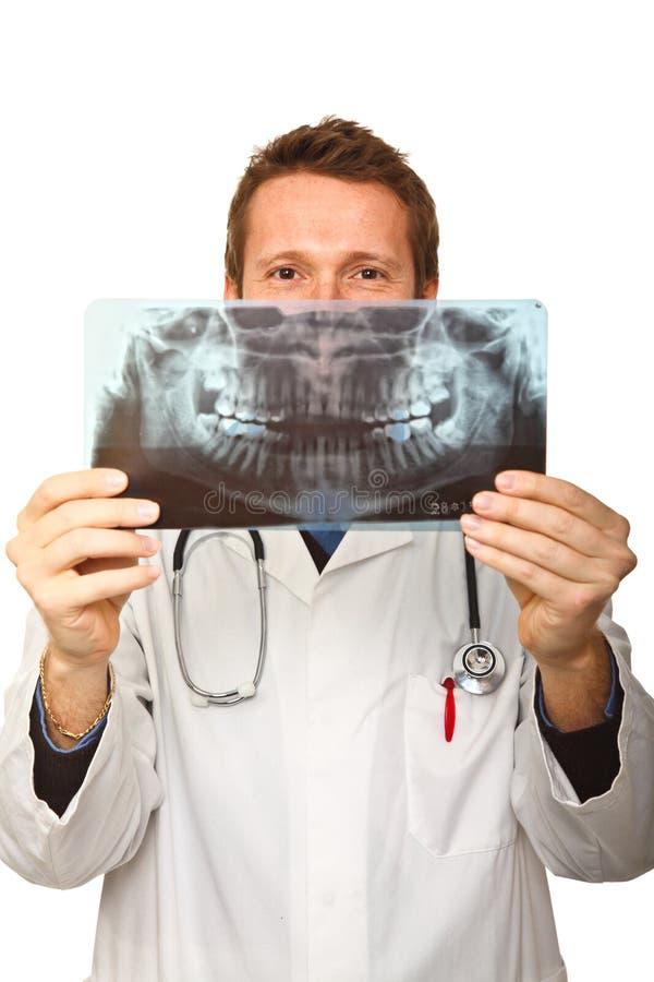 滑稽的医生 库存照片