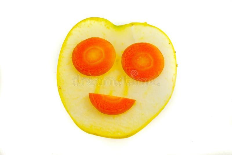 滑稽的果子 库存图片