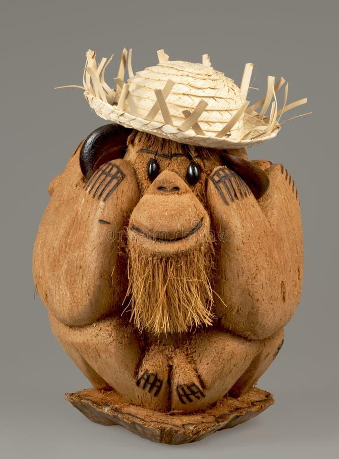 滑稽的猴子 库存图片