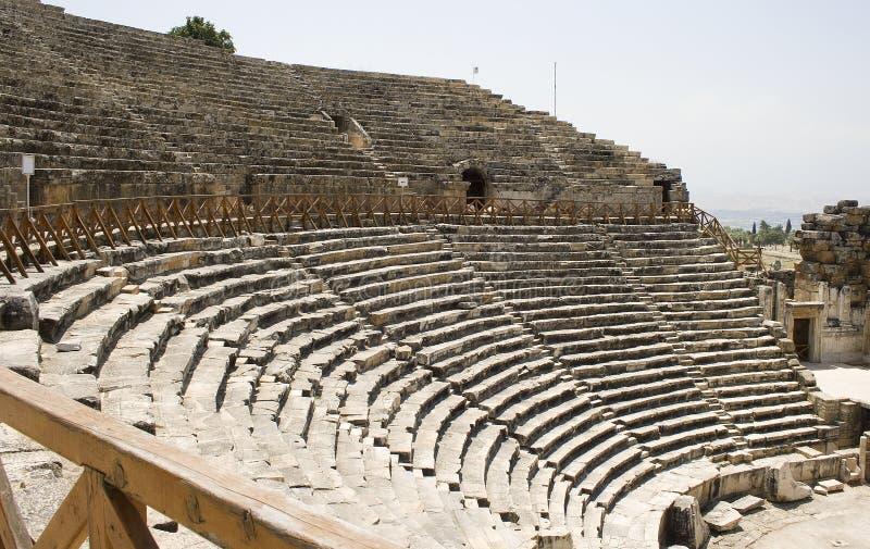 滑稽的diazoma供以座位剧院 免版税库存照片