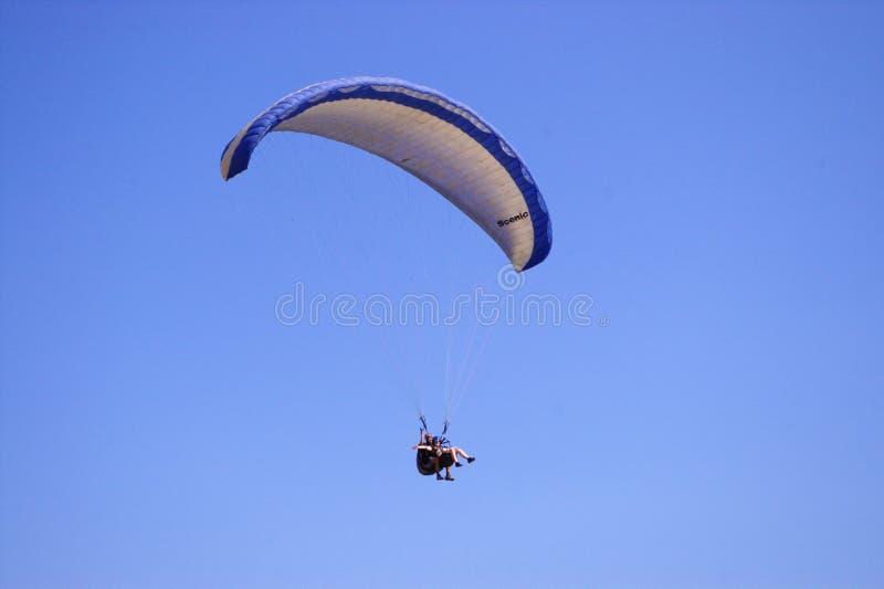 滑翔机飞行员 免版税库存照片
