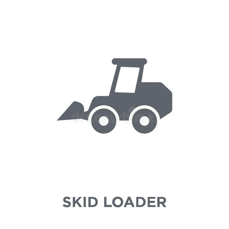 滑行从产业汇集的装载者象 向量例证