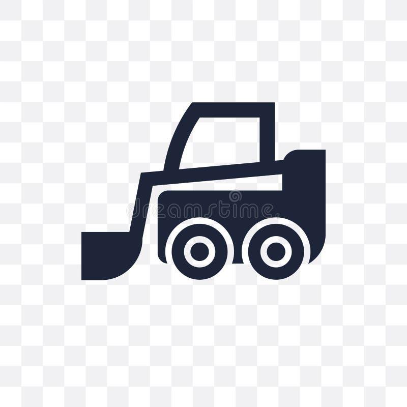 滑行装载者透明象 滑行装载者从Ind的标志设计 库存例证