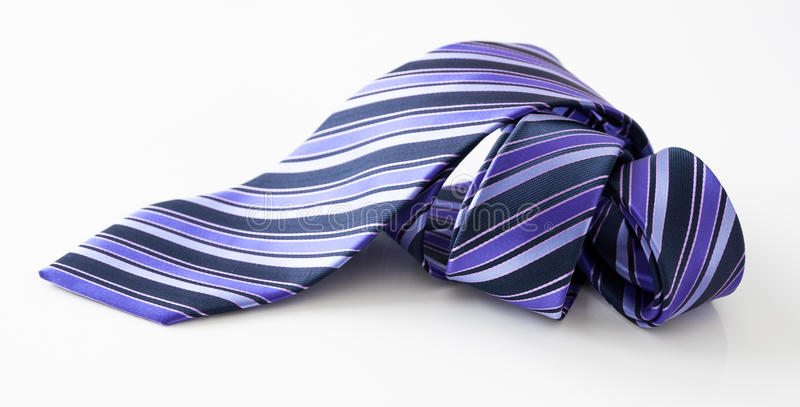滚的领带 免版税库存图片