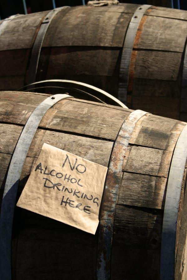 滚磨啤酒木自治市镇的市场 库存照片