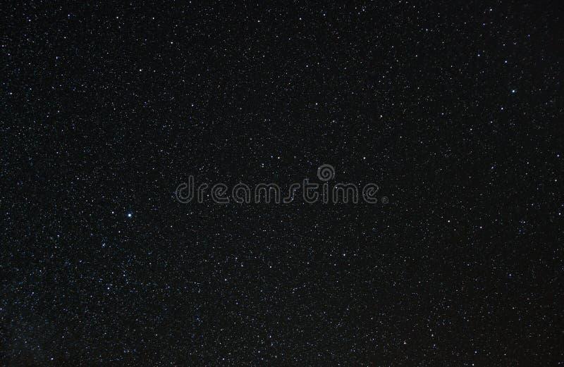 满天星斗的北冠、里拉琴和英雄赫拉克勒斯 图库摄影