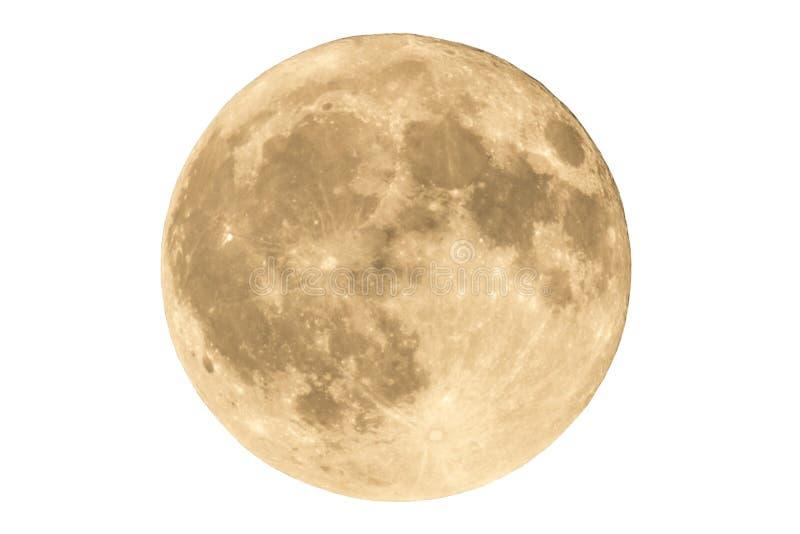 满月月/月球 免版税库存照片