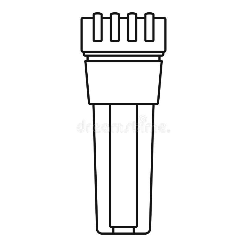 滤水器象,概述样式 皇族释放例证