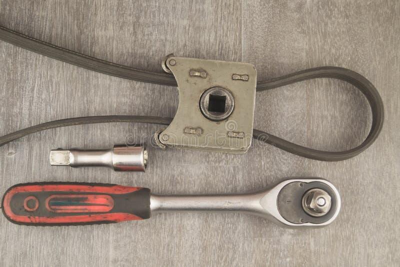 滤油器特定工具 库存图片