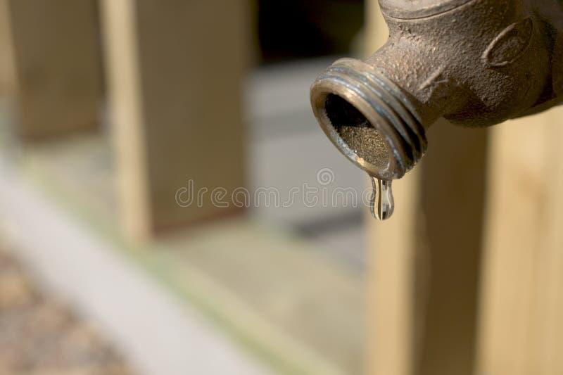 滴水水 免版税图库摄影
