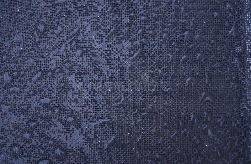 滴水雨纹理 库存照片