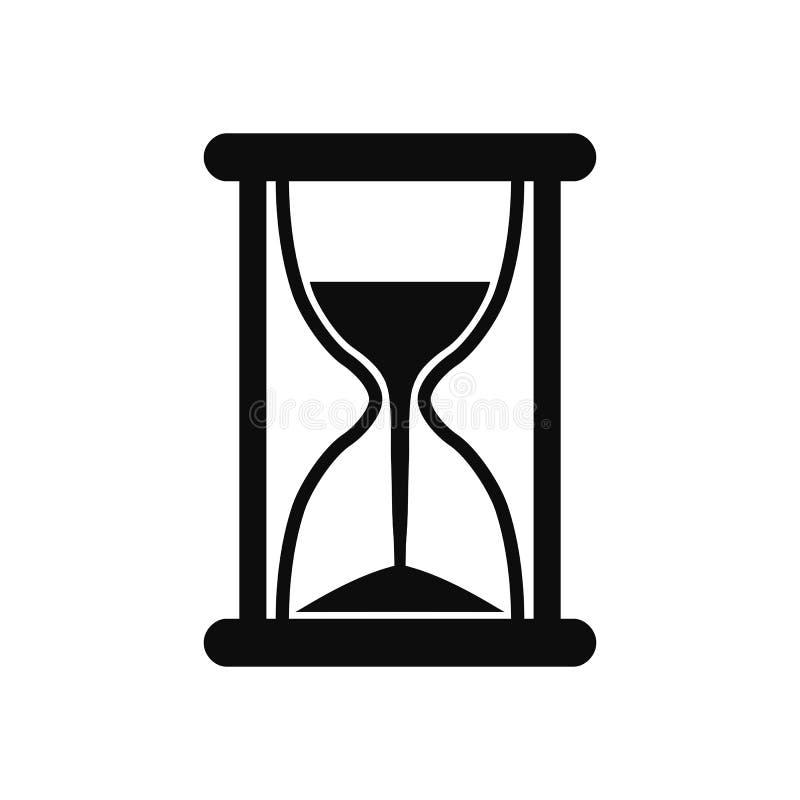 滴漏象、sandglass定时器、时钟平的象应用程序的和网站–传染媒介 向量例证