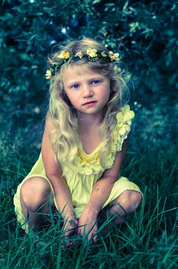 漂亮的孩子 免版税库存图片
