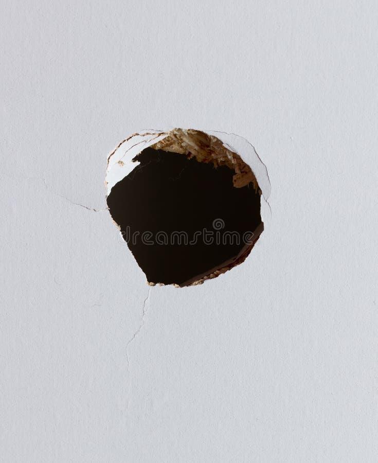 漏洞墙壁 免版税库存图片