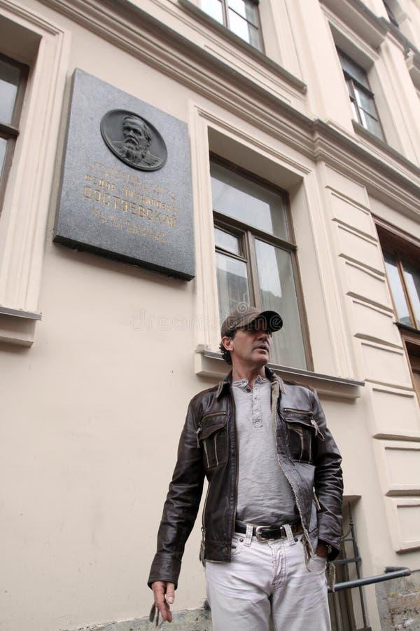 演员和歌手安东尼奥・班德拉斯 免版税图库摄影
