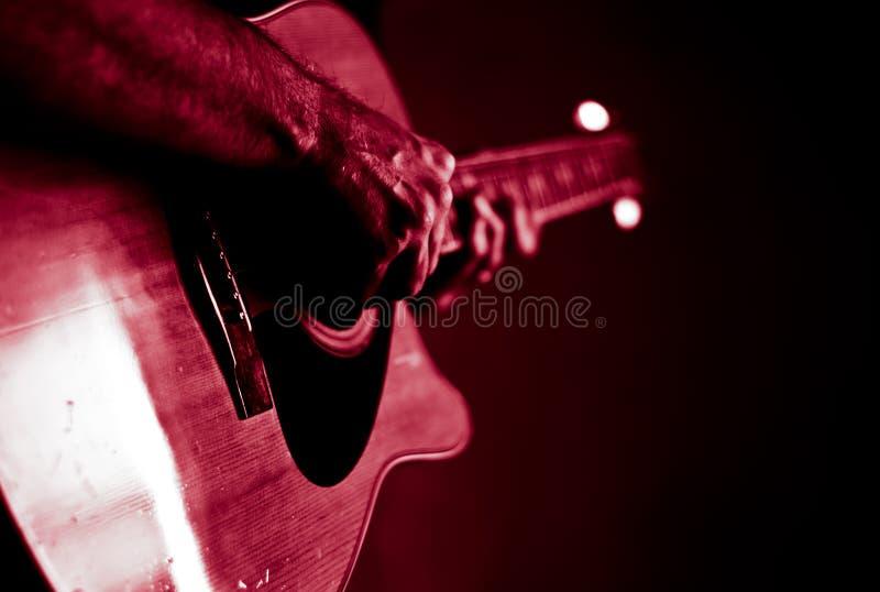 演奏在聚光灯的活爵士乐 免版税库存图片