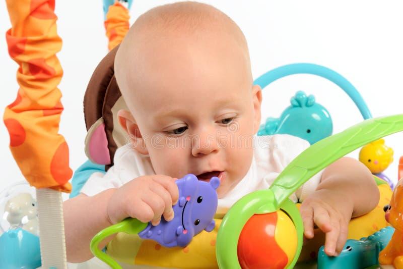 演奏小孩玩具 库存照片