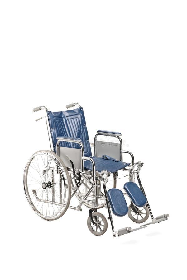 演播室被射击一个医疗轮椅 库存图片