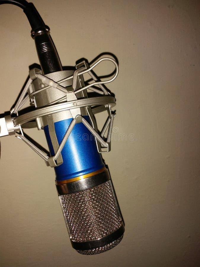 演播室mic 免版税库存照片