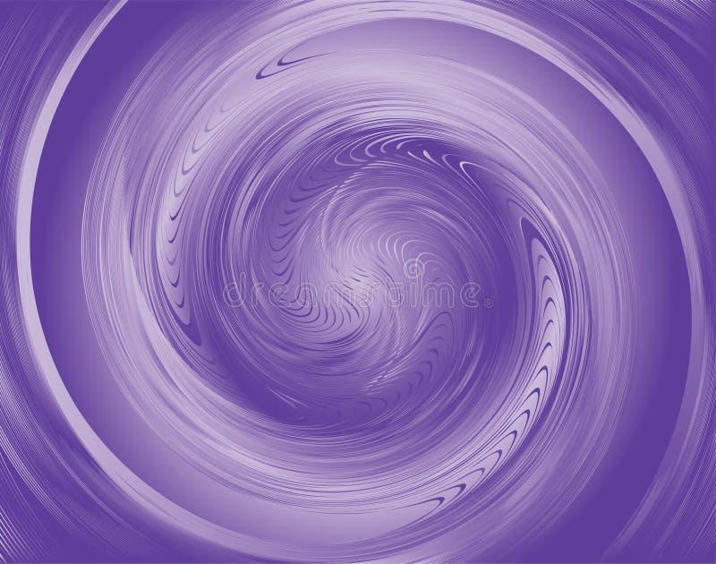 漩涡紫罗兰 皇族释放例证