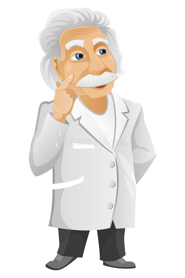 爱因斯坦 库存例证