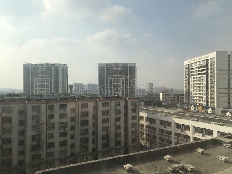 潍坊火车站茶市场 库存照片