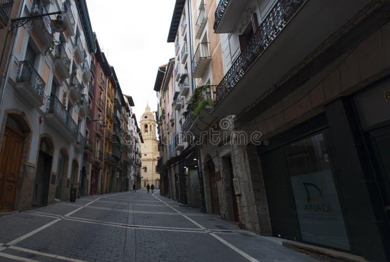 潘普洛纳,巴斯克地区,西班牙,欧洲 免版税图库摄影