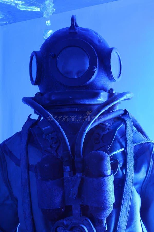 潜水员虚拟suba 库存照片