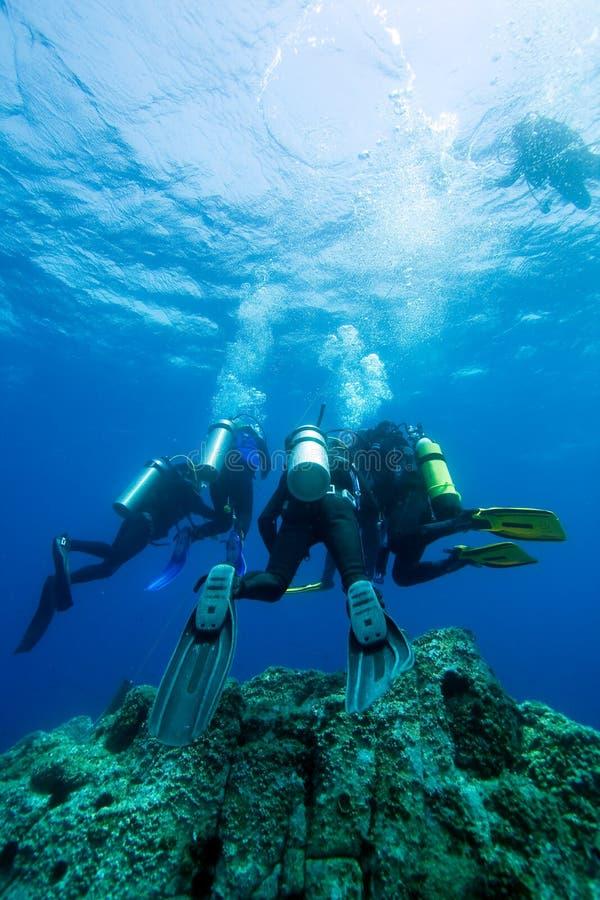 潜水员 库存图片
