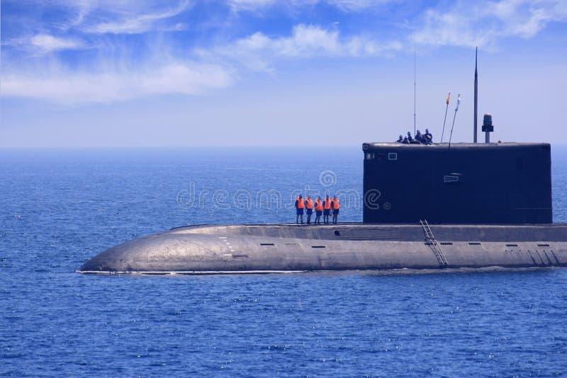 潜水艇 图库摄影