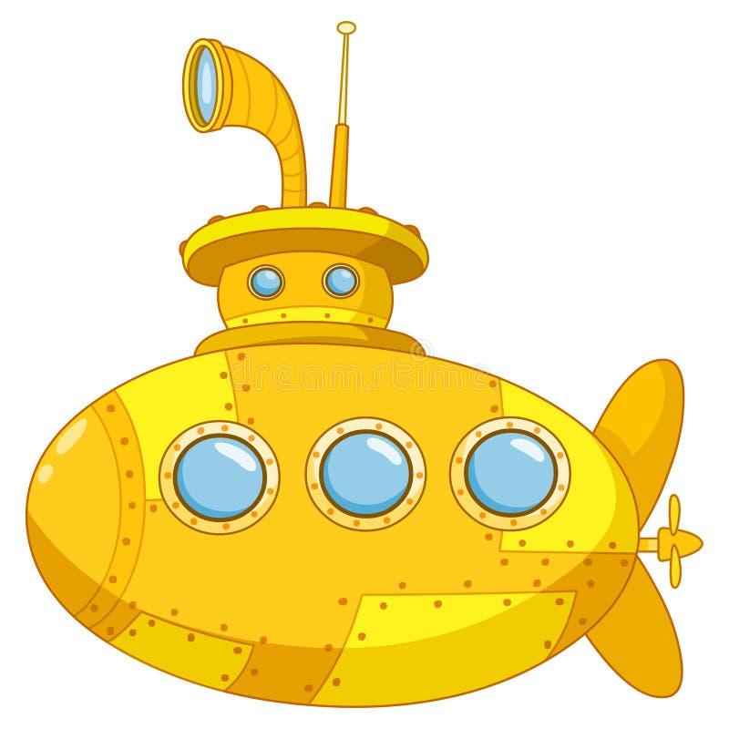 潜水艇 库存例证