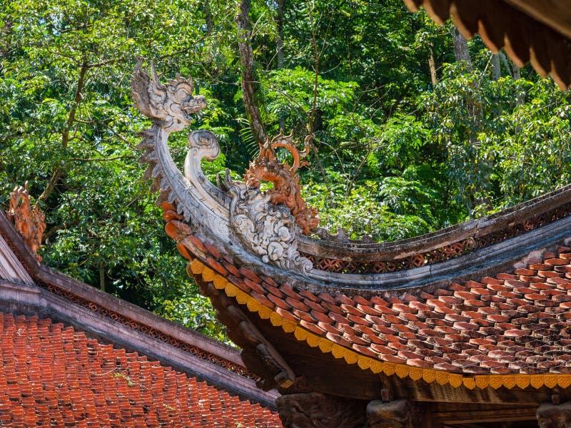潜逃Kinh寺庙在清化市,越南 免版税库存图片