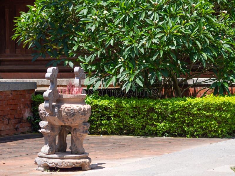潜逃Kinh寺庙在清化市,越南 图库摄影