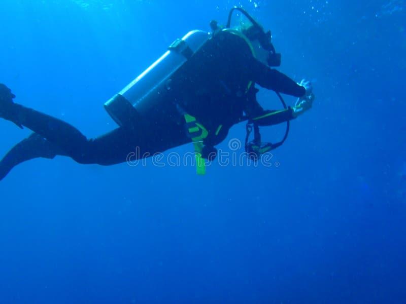 潜水者-斯卡巴勒澳大利亚 库存图片