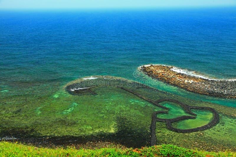 澎湖著名地标在台湾 免版税库存图片