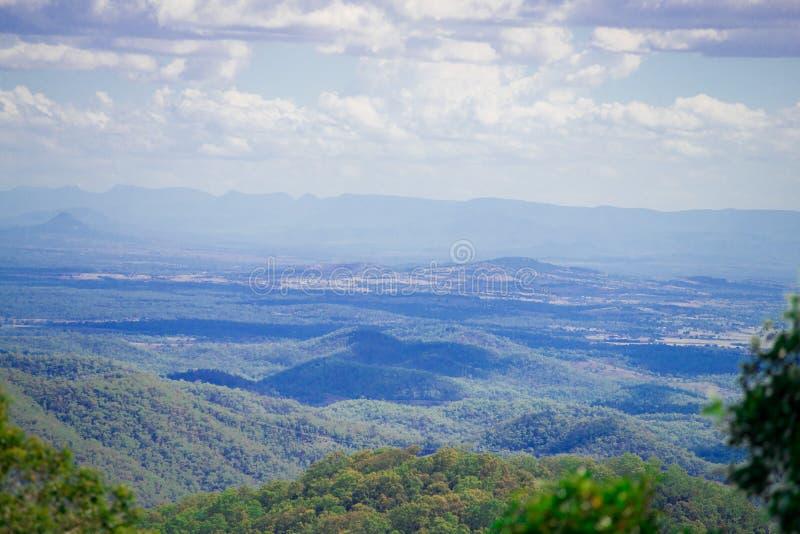 澳大利亚人山景城附近的布里斯班市在昆士兰,澳大利亚 澳大利亚是大陆位于在的南部 图库摄影