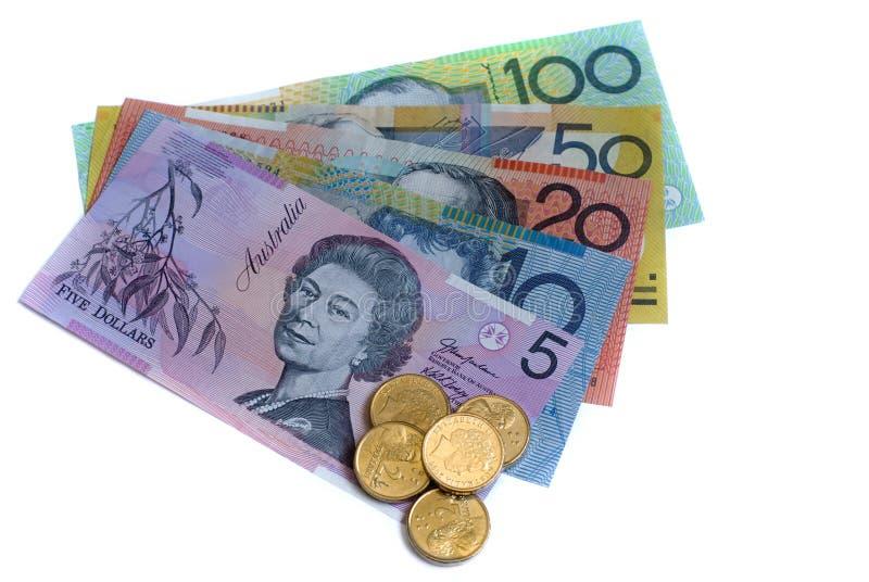 澳大利亚元 免版税库存图片
