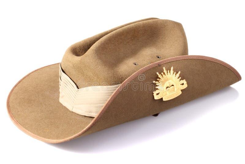 澳大利亚军队帽子 库存图片